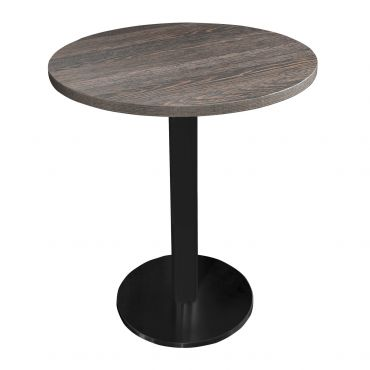 "Mesa de bar ""Cavepro"" color wenge, redondo"