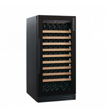 Nevera de vino de una zona WLB 360F Black Edition para 110 botellas